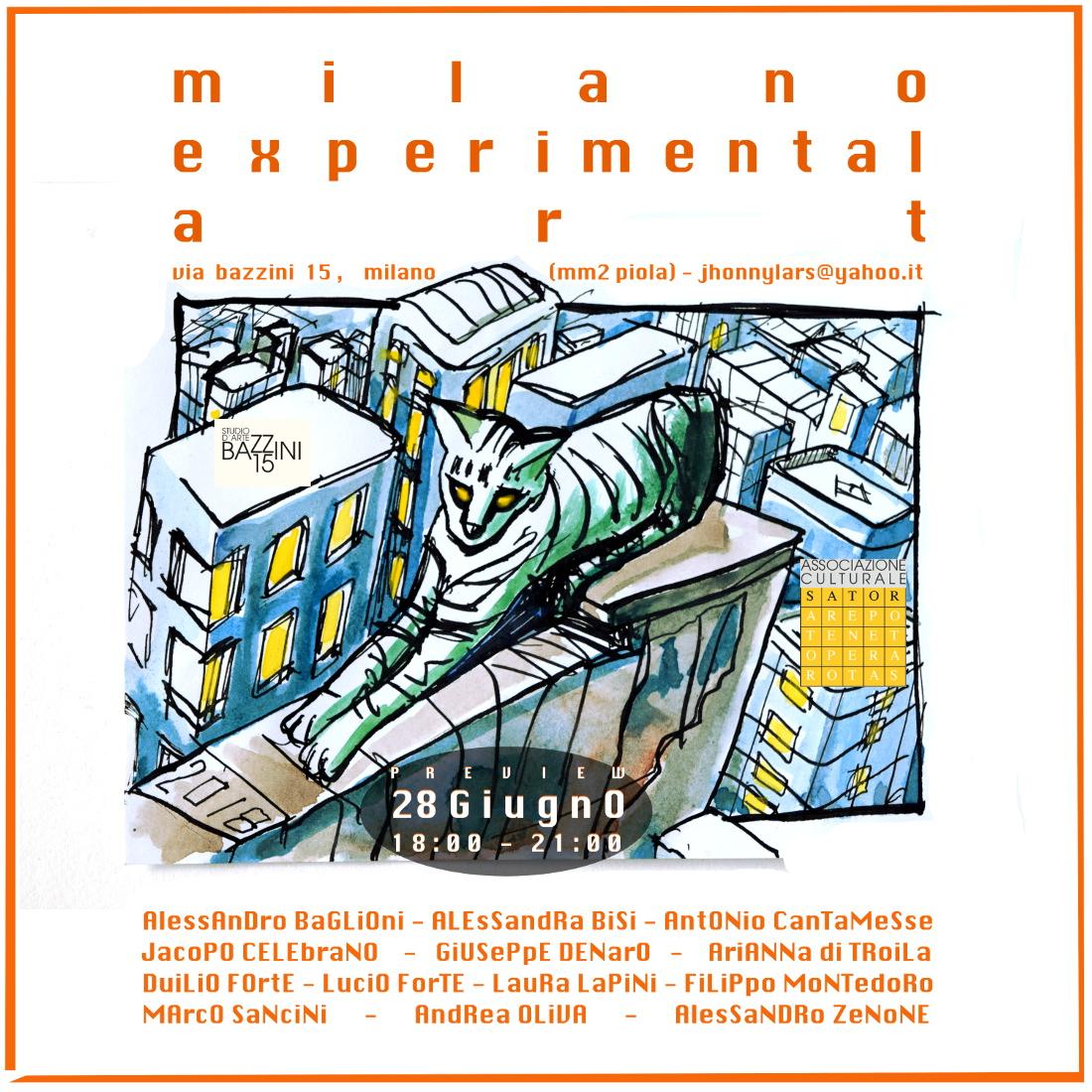 milano experimental art B