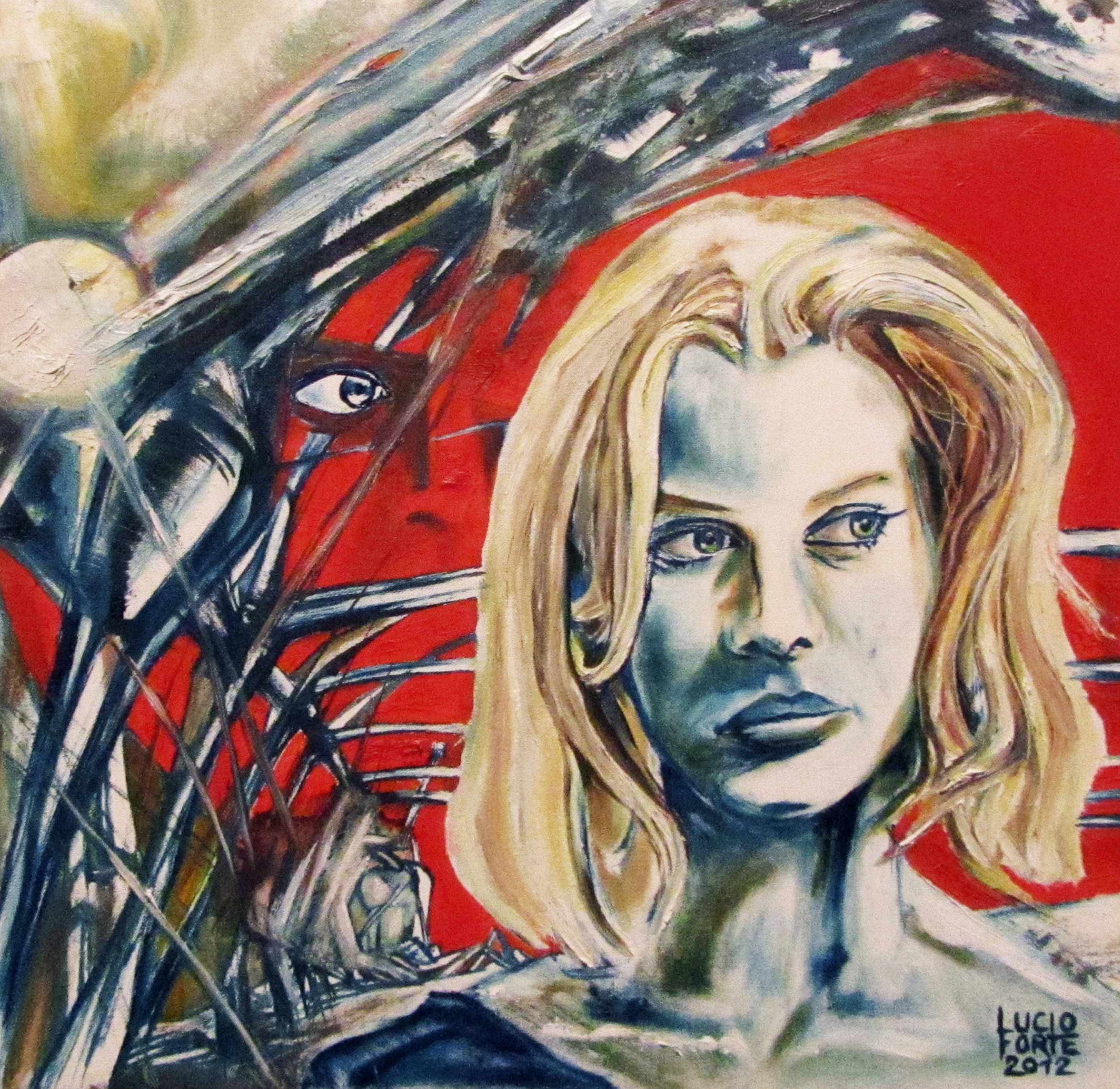 LucioForte2012 ParisTexas oil on canvas30x30