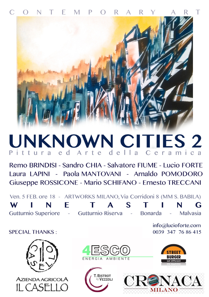 UNKNOWN CITIES 2B2